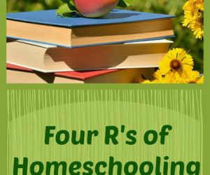Four R's of Homeschooling In Summer {Homeschool Link UP}
