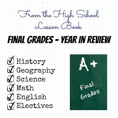 lesson book final grades
