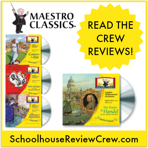 Classical Music for Your Homeschool! (Maestro Classics Review)