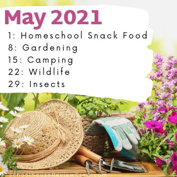 May 2021 Social Media Challenge Graphic