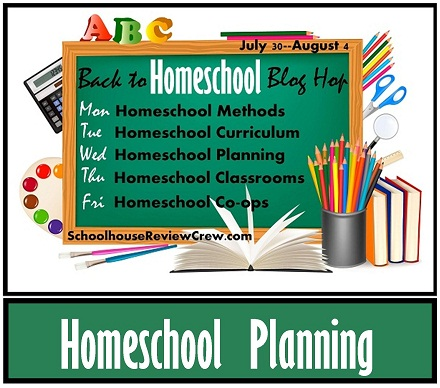 Back to Homeschool Blog Hop — Homeschool Planning