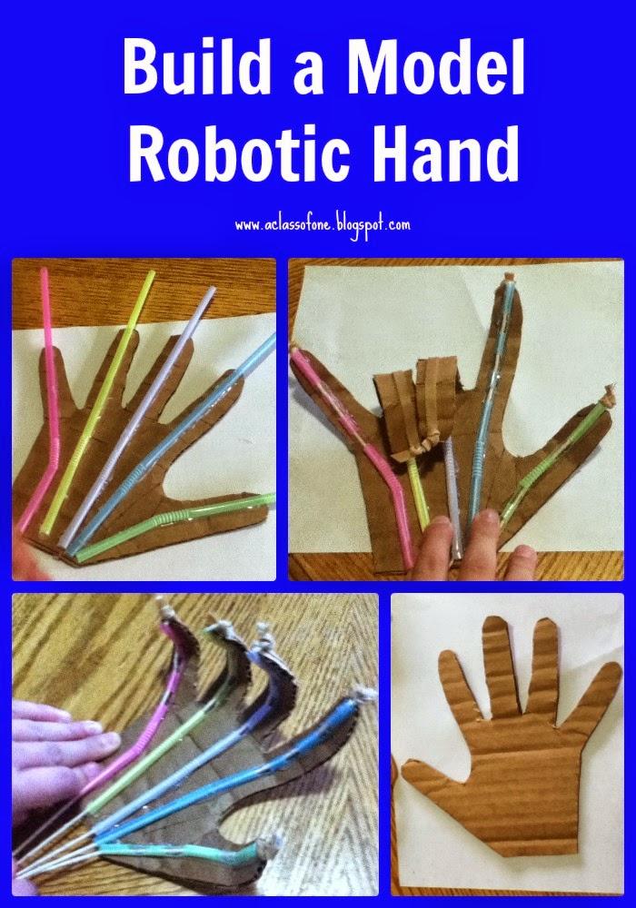 robotic hand pin
