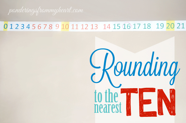 rounding to the nearest ten