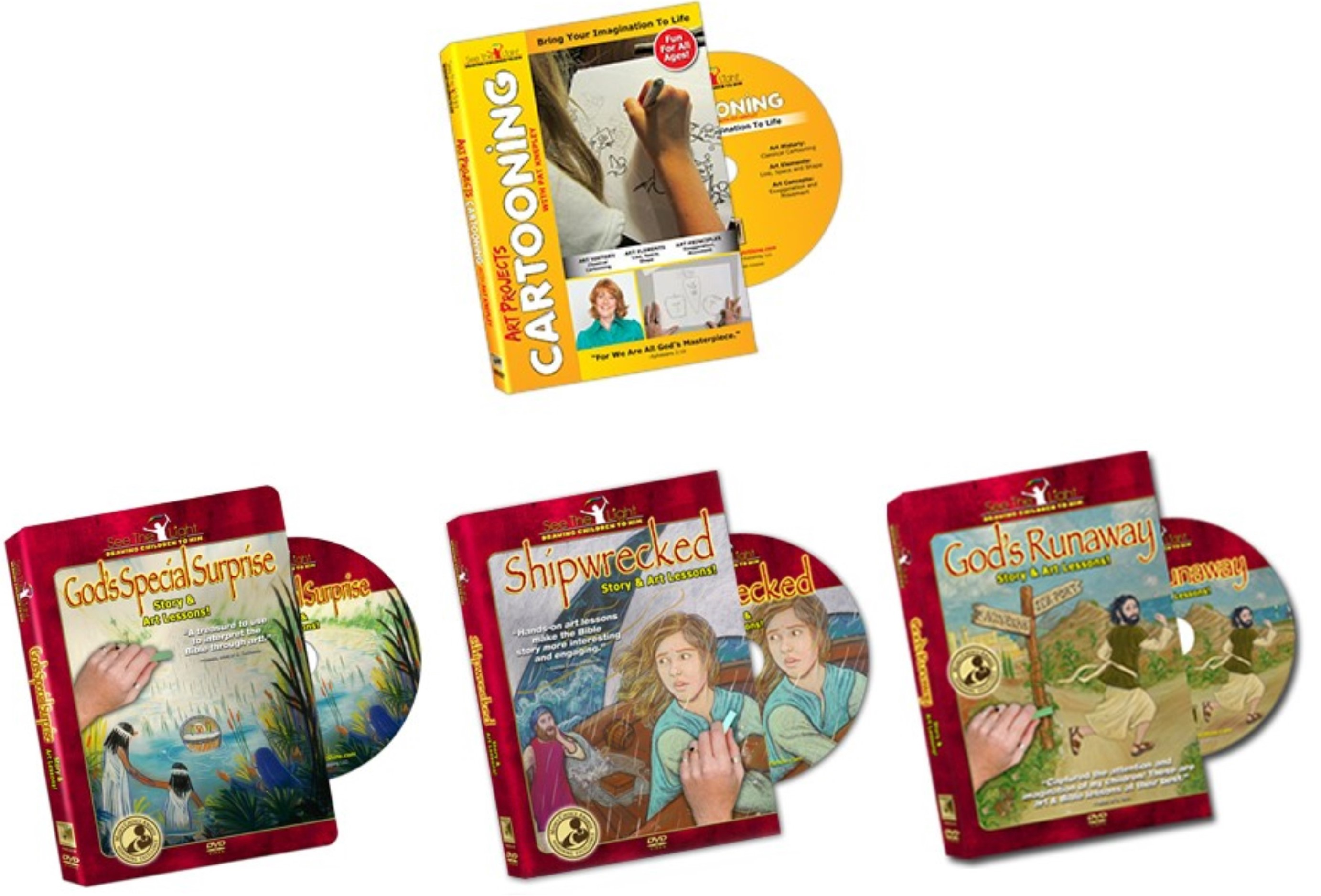 Video Based Art Curriculum for All Ages! (See the Light Review)