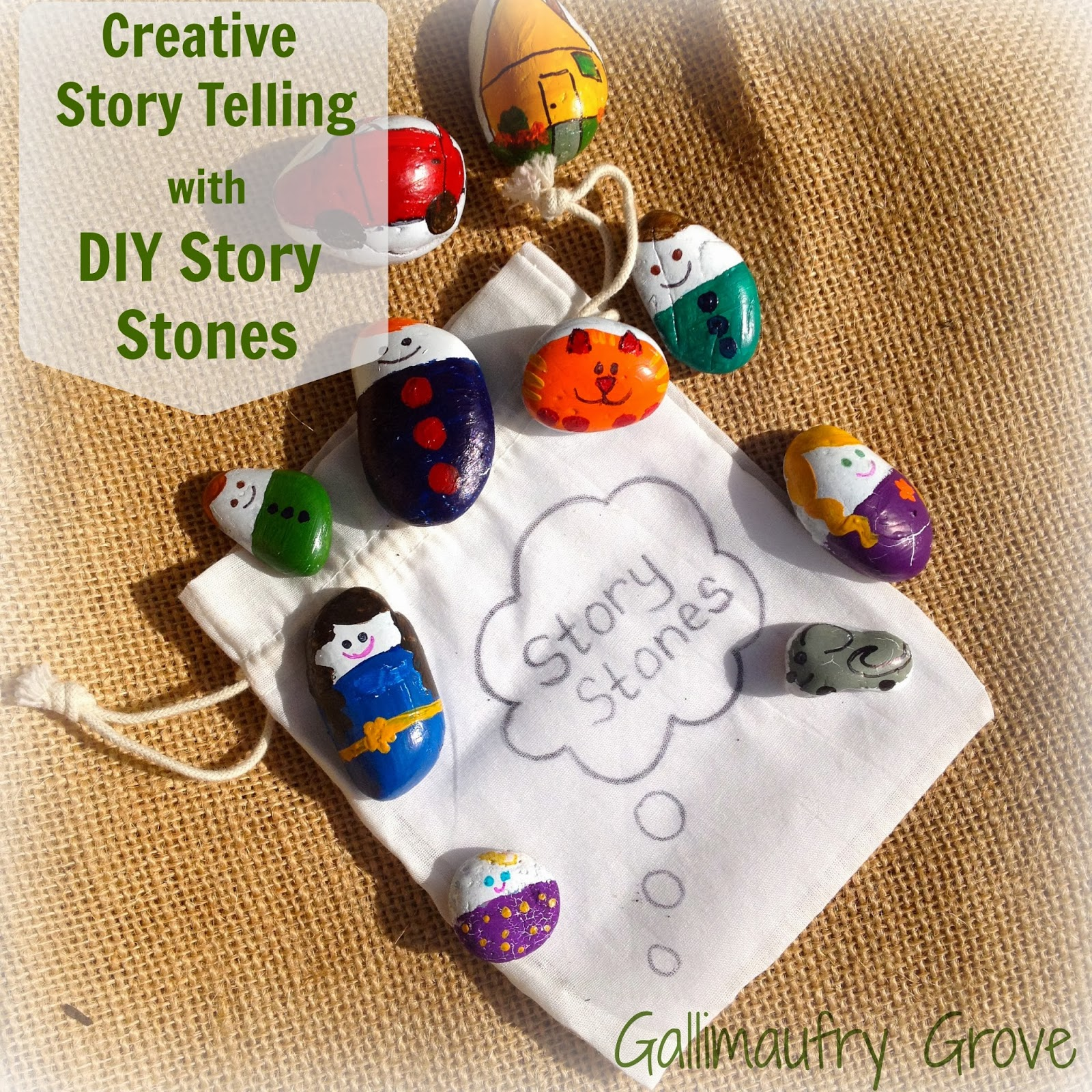 story stones pin