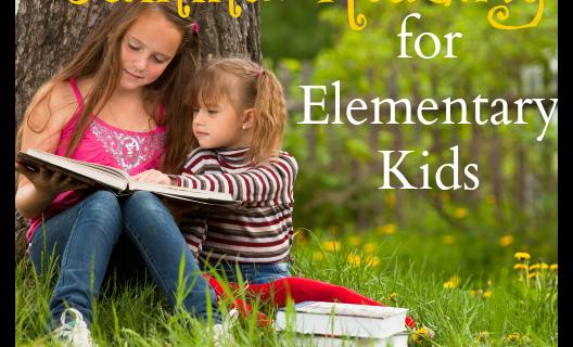 summer reading for elementary kids