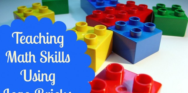 teaching math lego