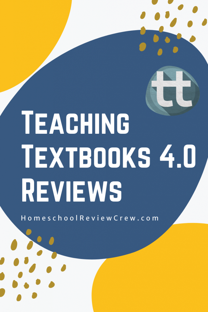 Teaching Textbooks 4.0 Reviews at HomeschoolReviewCrew.com