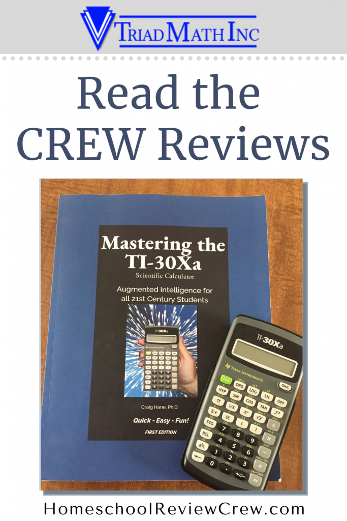 Mastering the TI-30Xa Scientific Calculator {Triad Math, Inc. Reviews}